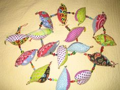 My own string of birds.