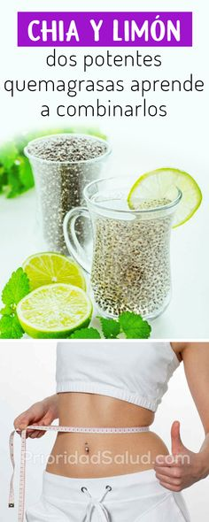 Lemon and Chia Seeds for Weight Loss – Lose 20 Pounds In 1 Month - naturall diet team Healthy Juices, Healthy Drinks, Get Healthy, Healthy Recipes, Herbal Remedies, Health Remedies, Lose 20 Pounds, Healthy Weight Loss, Smoothies