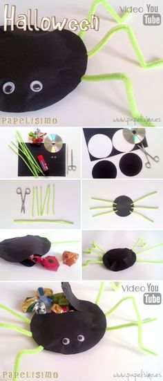 How to Make Your Own Halloween Decorations 🎃 Recipe Pinterest - halloween decorations to make on your own