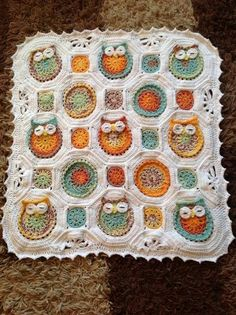 owl crochet blanket                                                                                                                                                                                 More