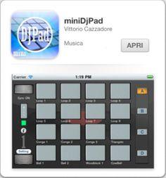 Una collezione incredibile di EFFETTI e LOOP!  miniDjPad è un'applicazione musicale per iPhone dedicata al mondo dei Dj.  - Vuoi divertirti ...