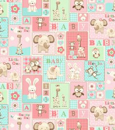 Adorbs for a girl! Scrapbook Background, Paper Background, Baby Scrapbook, Scrapbook Paper, Scrapbooking, Hello Kitty Coloring, Nursery Fabric, Shower Bebe, Decoupage Paper
