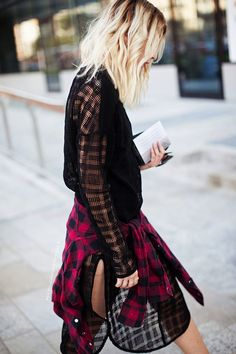 STREET STYLE: EASY GRUNGE - Le Fashion