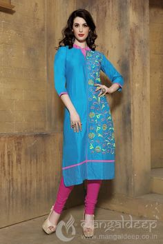 http://www.mangaldeep.co.in/latest-kurties/splendid-firozi-blue-cotton-partywear-readymade-kurti-7083 For more details contact us : +919377222211 (whatsapp available)