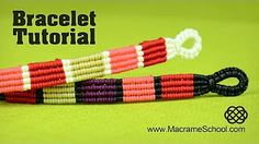 Star Wars Bracelet Tutorial | Macramé Chevron Pattern - YouTube