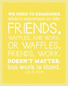 Wise words from Leslie Knope | Parks and Rec Instant Download by artkeptsimple via Etsy