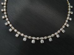 (@aaryajewelry) solitaire necklace laced with 17.86 carats