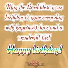 Sincere Religious Birthday Wishes