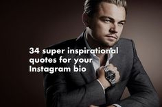 34 super inspirational quotes for your Instagram bio [with pictures]