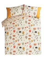 George Home Woodshed Reversible Pattern Duvet Set