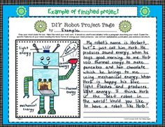 This robot project is a fun way to assess understanding of the forms of energy robot project solutioingenieria Gallery