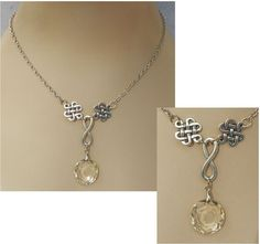 Silver Celtic Infinity Knot Pendant Necklace Handmade Adjustable Fashion #Handmade http://www.ebay.com/itm/Silver-Celtic-Infinity-Knot-Pendant-Necklace-Handmade-Adjustable-Fashion-/161570780048?