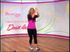 Wake Up and Go with Denise Austin. Video 15 minutes Cardio and Hot Body Yoga. #Workouts