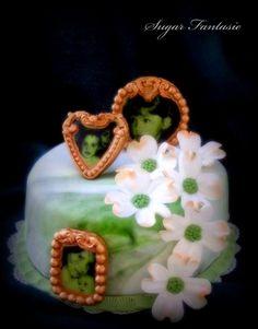 Sugar Fantasie -Torták és cukorvirágok: Somfa virág torta