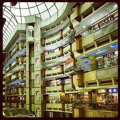 Shopping mall in Guangzhou