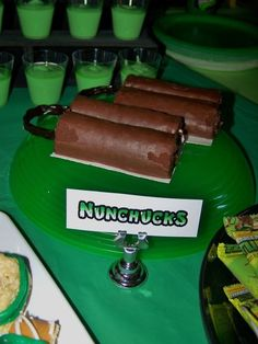 ninja turtle party food ideas | Visit catchmyparty.com