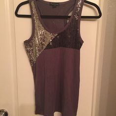 Sequence tank top Great sequence tank top, racer back. Pre loved. No trades ! Tops Tank Tops