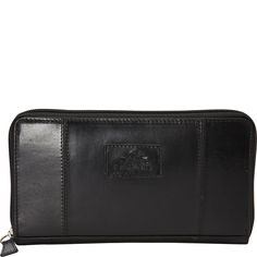 Buy the Mancini Leather Goods Ladies' RFID Clutch Wallet at eBags - With its slim profile and sleek design, this wallet is perfect for everyday travel. The Mancini Leat