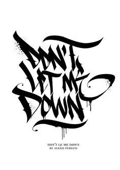 /// Black & white Calligraphy /// on Behance