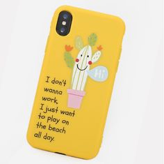 Unisex Woman Solid Color Letter Cute PC Phone Case For iPhone is best and cool on Newchic. Iphone Cases For Girls, Cute Phone Cases, Phone Case Store, Mobile Covers, Phone Covers, Couple Gifts, Boyfriend Gifts, Cactus, Lettering