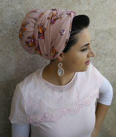 head scarf hijab israeli tichels headband tichel by oshratDesignz