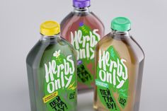 Herbs Only. Herbal Tea for Healthy Living (Student Project) on Packaging of the World - Creative Package Design Gallery