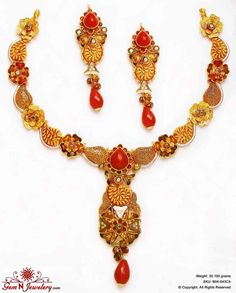 Indian bridal Jadau Jewellery , Kundan Jewellery, Royal jewellery, Gold Jewellery Much More on http://Gemnjewelery.com