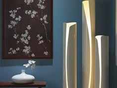 7. PVC Cutout - 8 Beautifully Unique DIY Floor Lamps That You're Gonna Love ... → DIY