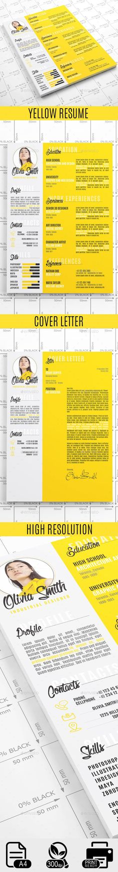 Yellow #Resume - Resumes Stationery