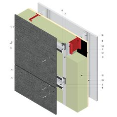 UNIVERSE® 7000-285 with EQUITONE on Cascadia Clips and Studs - Universe Facade Solutions - architectural aesthetics cladding fascia