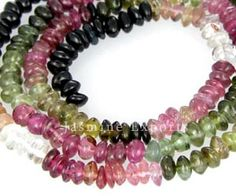 J-beads is specialized in delivering good quality Tourmaline Gemstone Beads and jewelry.  Tourmaline Beads- Order 10 strands, Get Price Benefit and take Advantage of Superb 20% Extra Goods Offer.