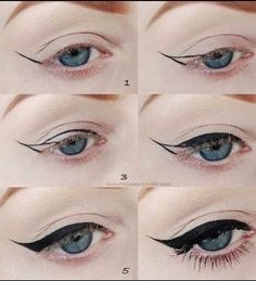 How to...winged eyes