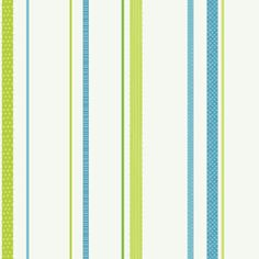 Green Ribbon Stripe  Wall Paper  - Wall Sticker Outlet