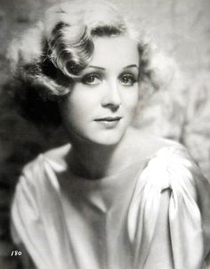 The lovely actress, Gloria Stuart.  Used some Photoshop on the image to brighten it after all those years.