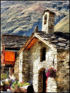 Mountain Cottage, France