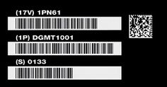 The primary advantage of having these codes is to give unique identifiers to specific products, while at the same time, compressing data about the same item, so that a lot of information can be found on such a UID plate or tag. Arts And Crafts, Dots, Company Logo, Tech Companies, Plates, Learning, Business, Blog, Stitches
