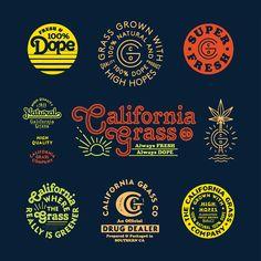 Packaging Design Inspiration, Graphic Design Inspiration, Retro Logos, Vintage Logos, Brewery Design, Circular Logo, Portfolio Design, Portfolio Book, Portfolio Layout
