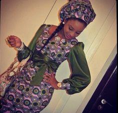 So pretty! Trendy African fashion. #Ankara #african fashion #Africa #Clothing #Fashion #Ethnic #African #Traditional #Beautiful #Style #Beads #Gele #Kente #Ankara #Africanfashion #Nigerianfashion #Ghanaianfashion #Kenyanfashion #Burundifashion #senegalesefashion #Swahilifashion ~DK