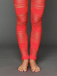 Ruffle Legging