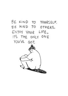 Image of Be Kind A4 PRINT