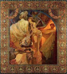 Alphonse Mucha -(1860-1939) Quo vadis