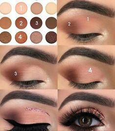 68 Ideas For Eye Makeup Step By Step Eyeliner Make Up - Makeup İdeas Fairy Makeup 101, Makeup Hacks, Hair Makeup, Makeup Goals, Hair Or Makeup First, Makeup Tutorials, Prom Makeup, Wedding Makeup, Eye Makeup Steps