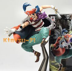 One Piece Buggy Figure SCultures BIG 4 Vol.4 The Clown Buggy Banpresto