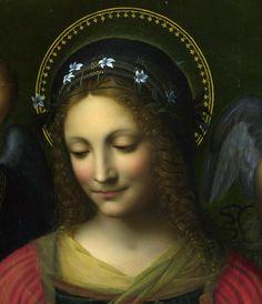 nataliakoptseva:    After Bernardino Luini -  Saint Catherine (detail)  London national gallery