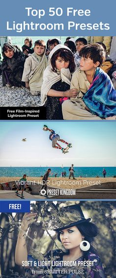Top 50 Free Lightroom Presets
