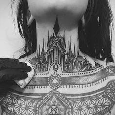 2017 trend Geometric Tattoo - 2Spirit Tattoo | Geometric Tattoos: Blackwork & Dotwork Check more at http://tattooviral.com/tattoo-designs/geometric-designs/geometric-tattoo-2spirit-tattoo-geometric-tattoos-blackwork-dotwork-21/