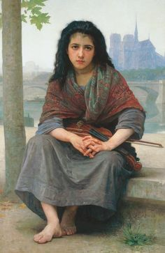 The Bohemian Painting  - The Bohemian Fine Art Print