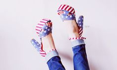 american flag shoes