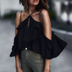 Fashion Women Ladies Clothing Tops Chiffon Summer Loose Casual Off Shoulder Shirts Tops Blouse Women-in Blouses & Shirts from Women's Clothing & Accessories on Aliexpress.com | Alibaba Group