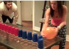 Cool Game – Blow the glasses with balloon